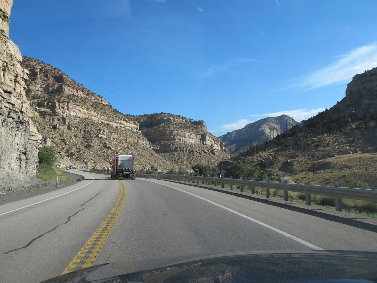 Price River Canyon, above Price, Utah, along US 6.