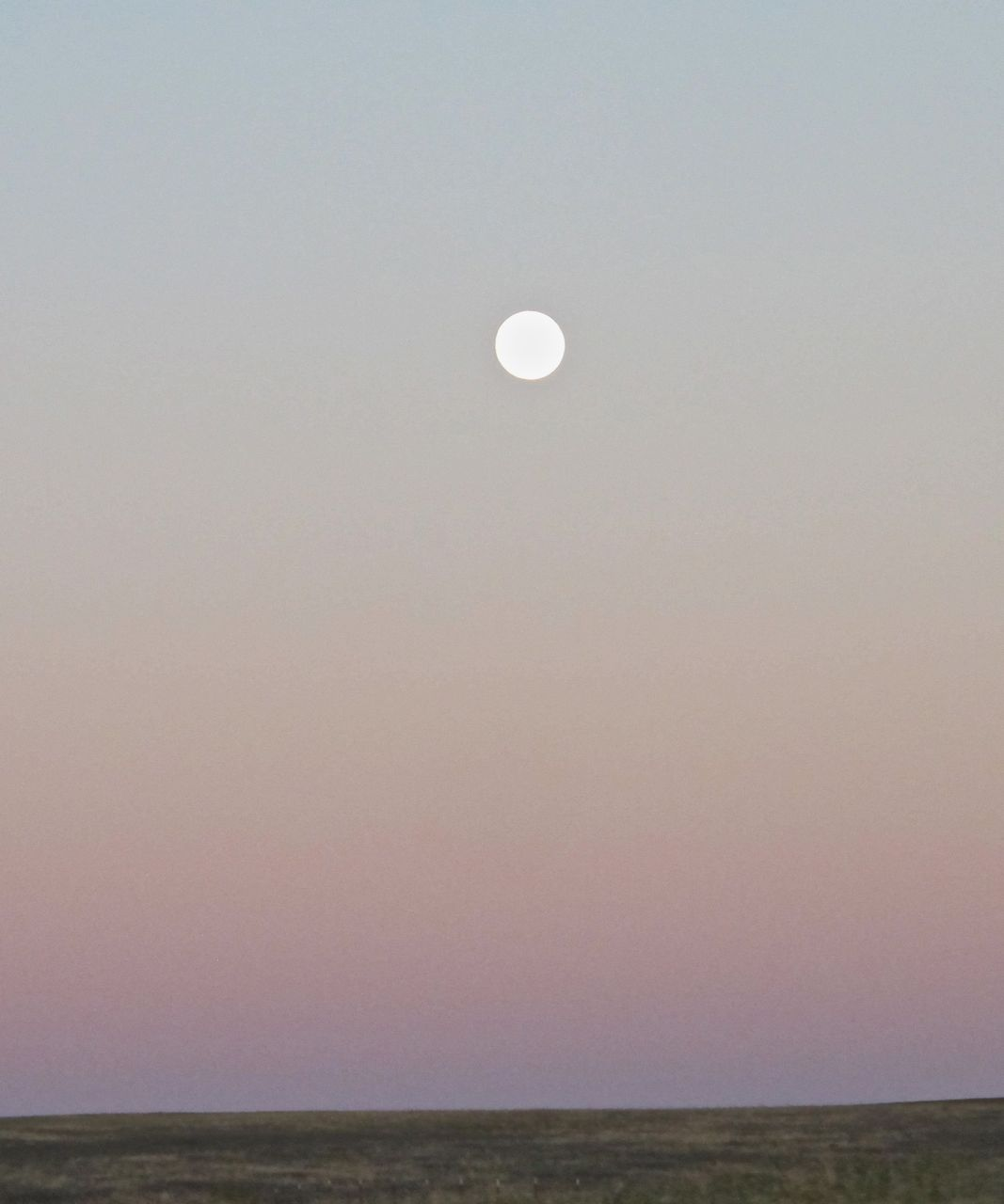 Moonrise over the Columbia Plateau