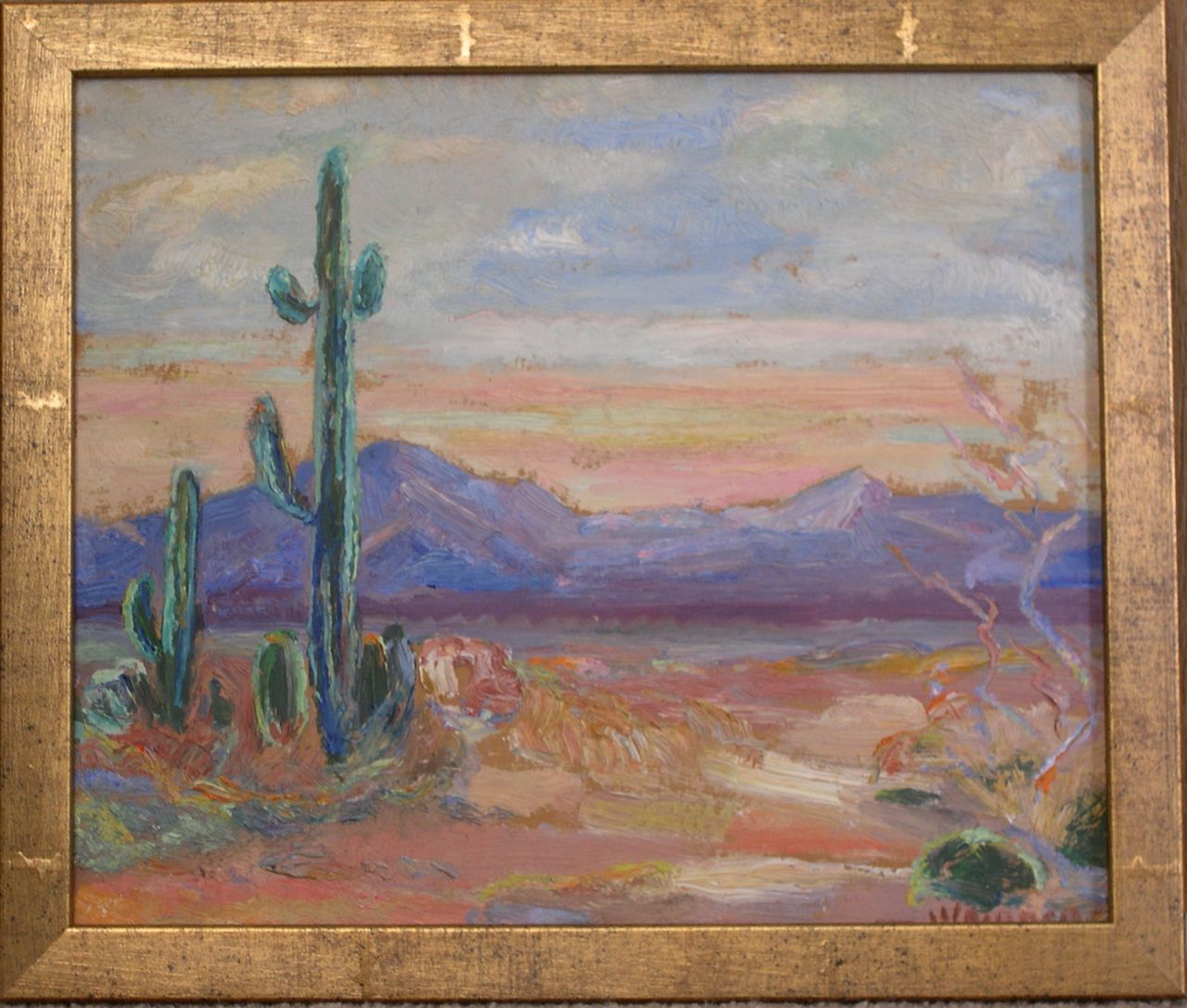 Untitled painting, near Tucson, Jennie Vennerstrom Cannon