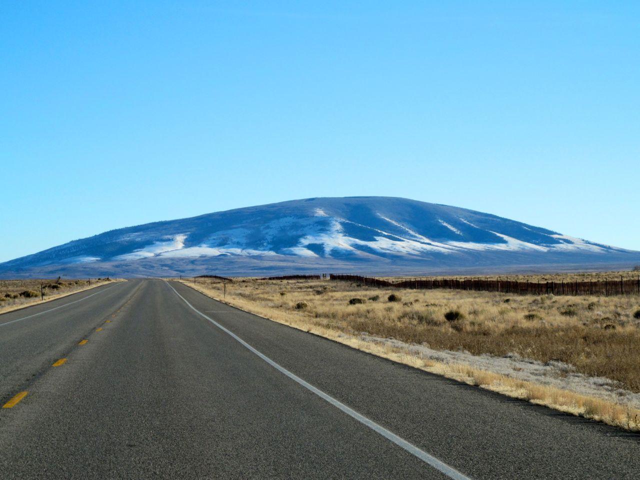 Sierra San Antonio marks the Colorado-New Mexico boundary.