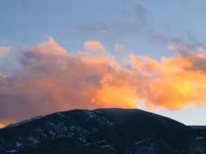 Sunset at 4:35 p.m.