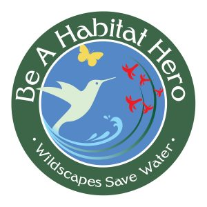 The new Habitat Hero logo, designed by Lauren Guisti