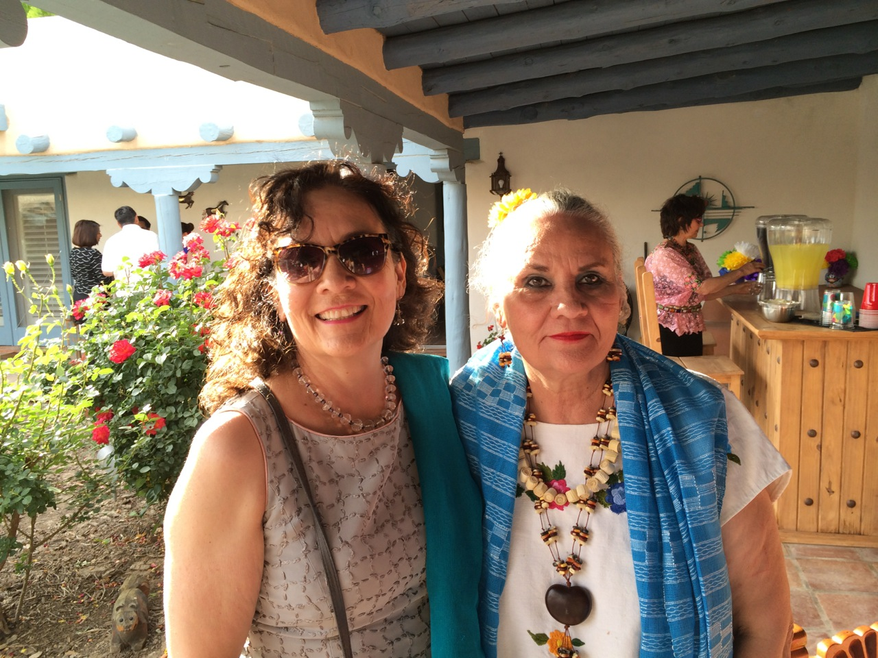 The Chávez sisters—Denise and Margo