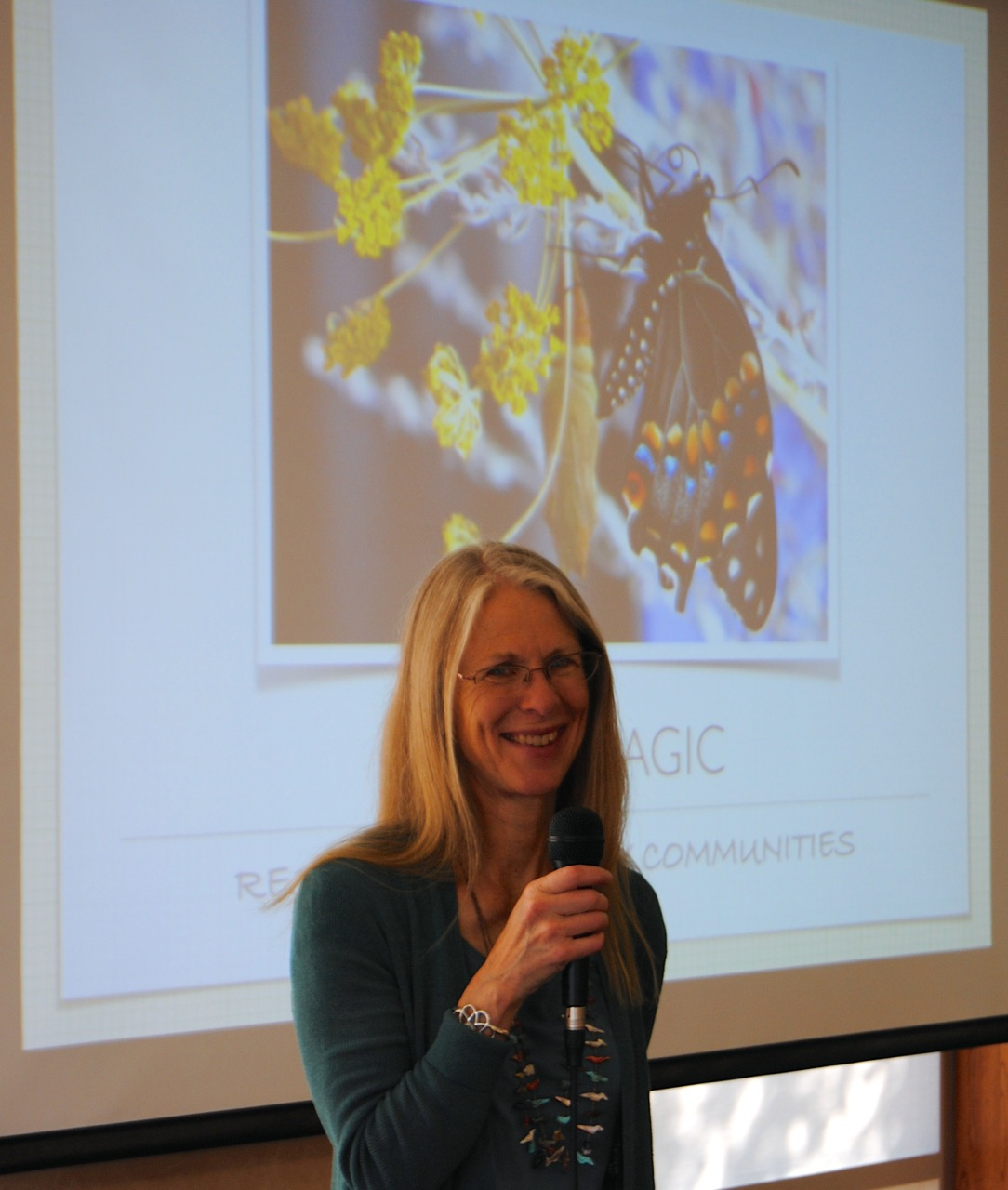 """Speaking about """"Plant Magic,"""" how plants are key to restoring the everyday landscapes where we live, play and work."""
