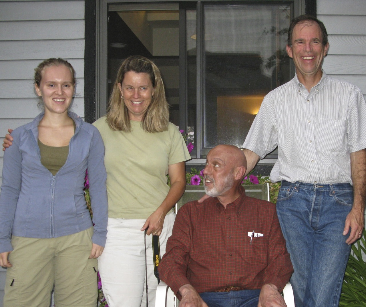 Alice, Lucy, Richard and Bill in Olympia, September, 2011