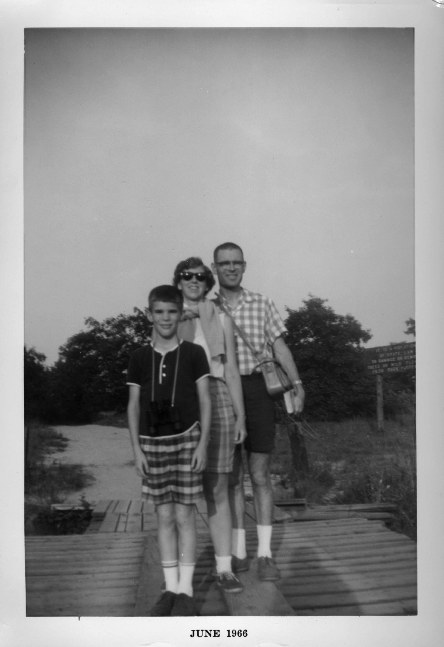 Tweit family hike in Florida, circa 1964