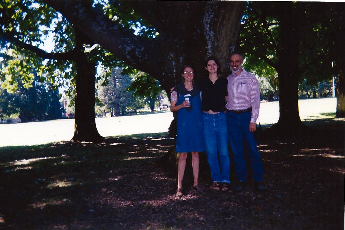 Me, Molly and Richard at Reed College.