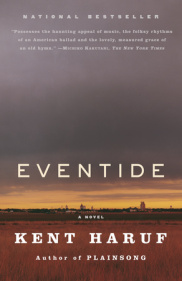 Eventide, the second novel in the Holt trilogy