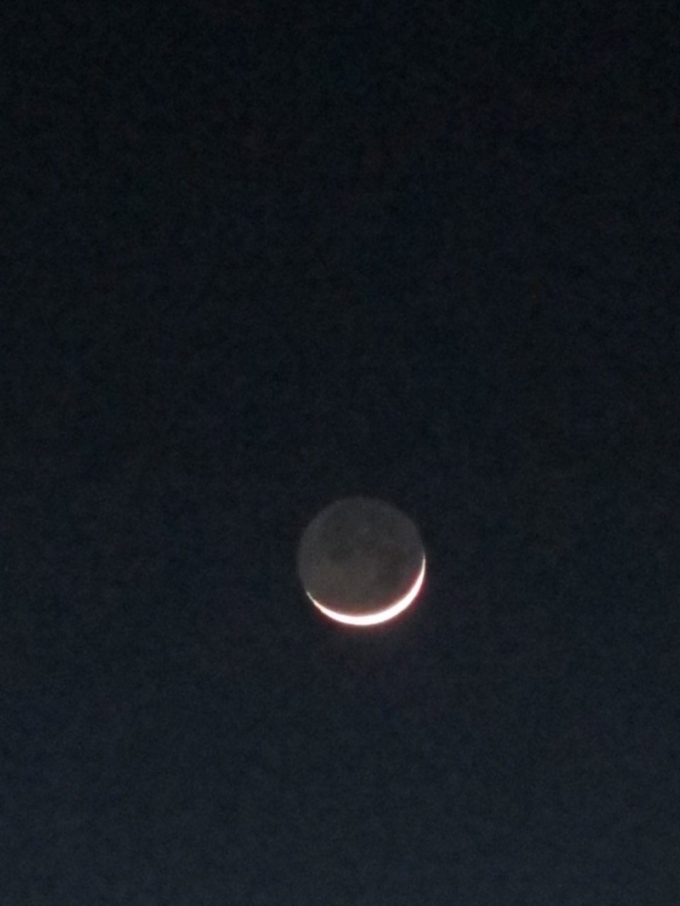 New year, new moon--and long nights....