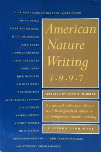 American Nature Writing: 1997